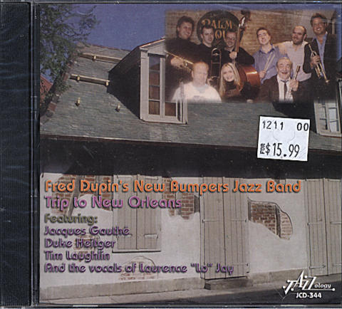 Fred Dupin's New Bumpers Jazz Band CD