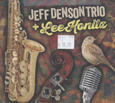 Jeff Denson Trio + Lee Konitz CD