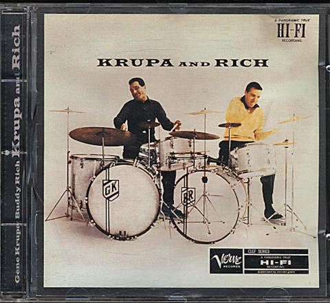 Gene Krupa / Buddy Rich CD