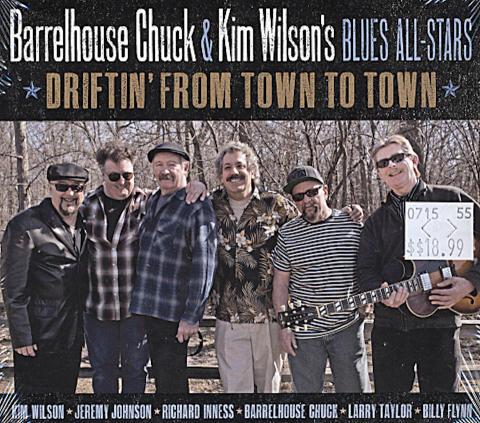 Barrelhouse Chuck & Kim Wilson's Blues All-Stars CD
