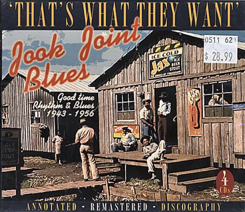 Jook Joint Blues CD