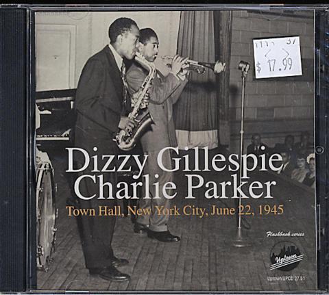 Dizzy Gillespie - Charlie Parker CD