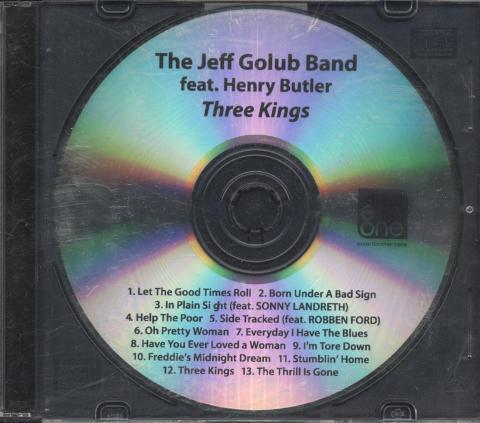 The Jeff Golub Band CD