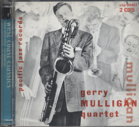 Gerry Mulligan Quartet CD