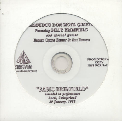 Famoudou Don Moye Quartet CD