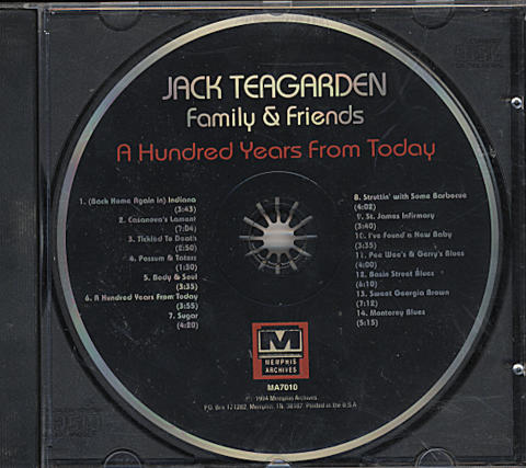 Jack Teagarden CD