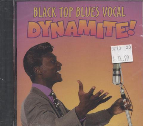 Black Top Blues Vocal Dynamite! CD