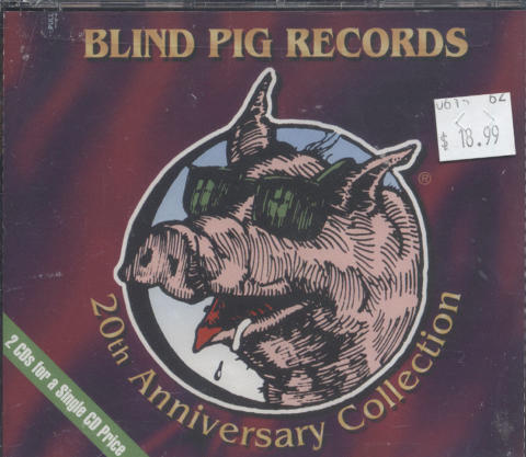 Blind Pig Records 20th Anniversary Collection CD