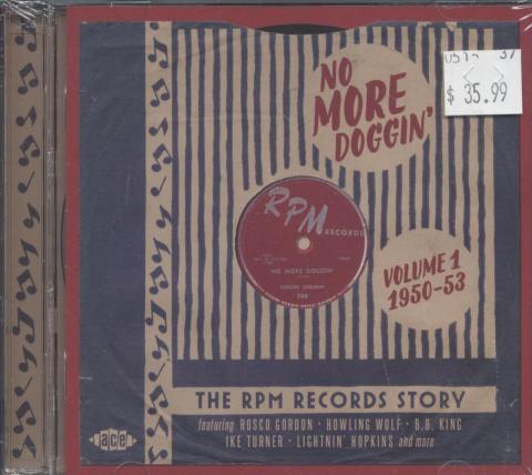 No More Doggin' CD
