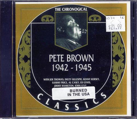 Pete Brown CD