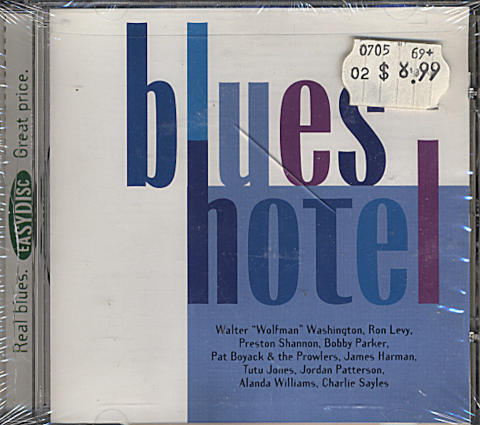 Blues Hotel CD