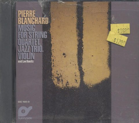 Pierre Blanchard CD