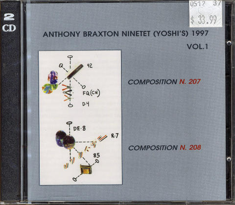Anthony Braxton Ninet CD