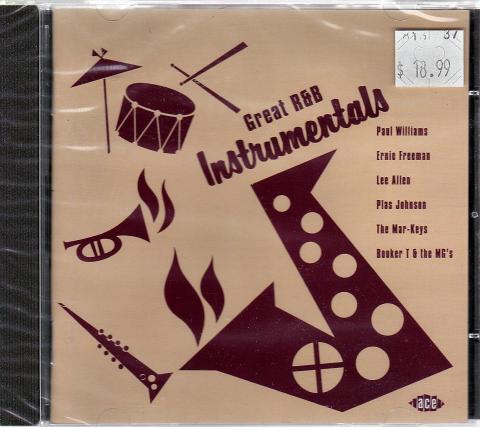 Great R&B Instrumentals CD