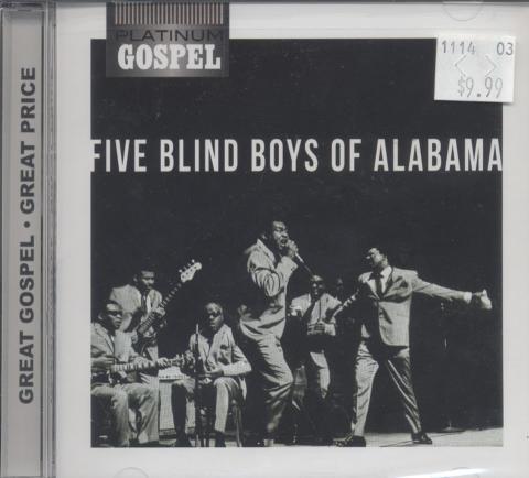 Five Blind Boys of Alabama CD