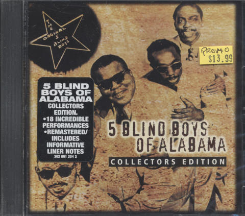 5 Blind Boys of Alabama CD