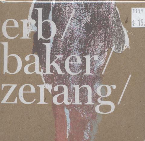 Erb Baker CD