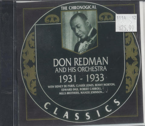 Don Redman And His Orchestra CD