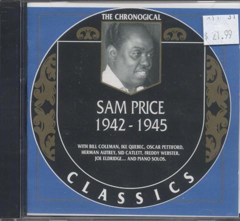 Sam Price CD