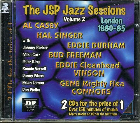 The JSP Jazz Sessions: London 1980-85, Volume 2 CD