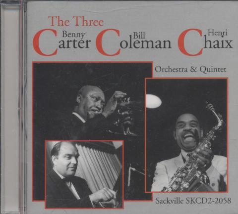 Benny Carter / Bill Coleman / Henri Chaix CD
