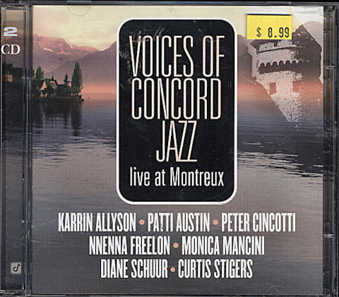 Voices of Concord Jazz: Live At Montreux CD