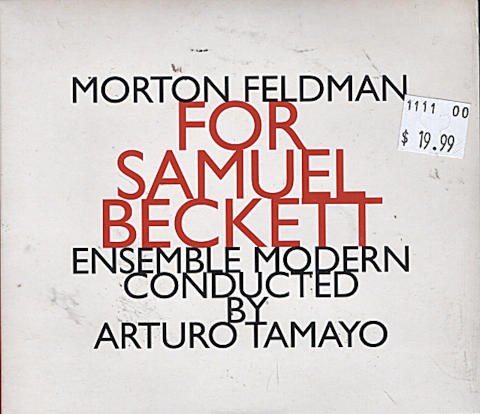 Morton Feldman CD