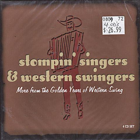 Stompin' Singers & Western Swingers CD