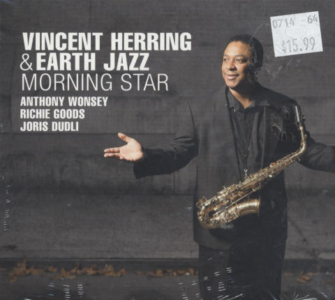Vincent Herring & Earth Jazz CD