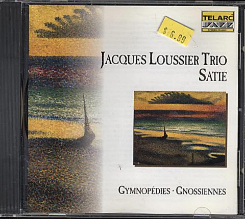 Jacques Loussier Trio / Erik Satie CD
