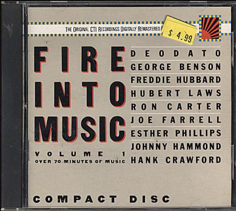 Fire Into Music CD