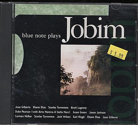 Blue Note Plays Jobim CD