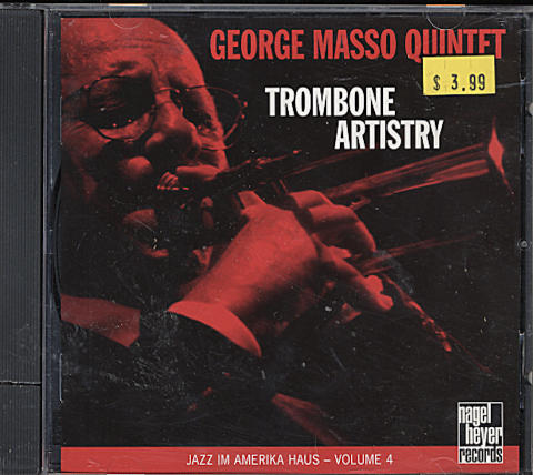 The George Masso Quintet CD