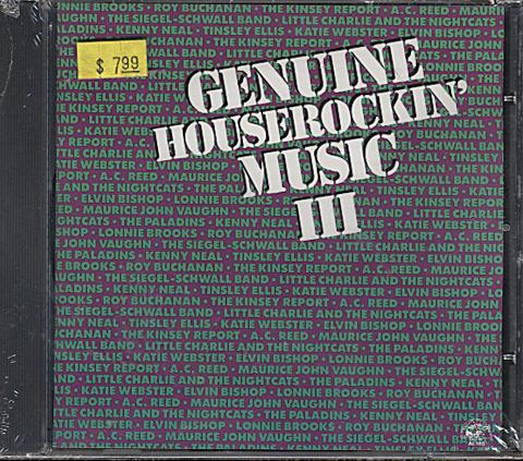 Genuine Houserockin' Music III CD
