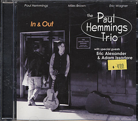 The Paul Hemmings Trio CD