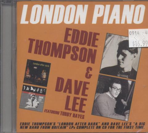 Eddie Thompson & David Lee CD