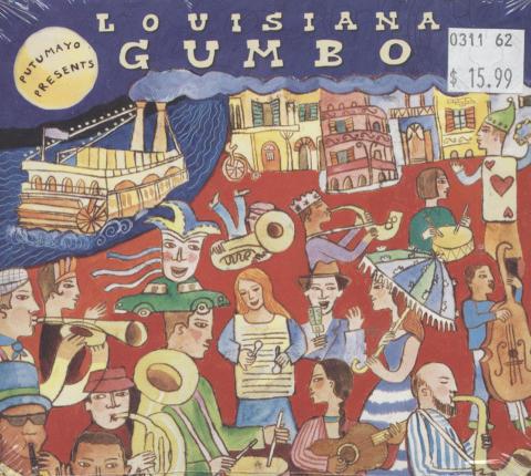 Putumayo Presents: Louisiana Gumbo CD