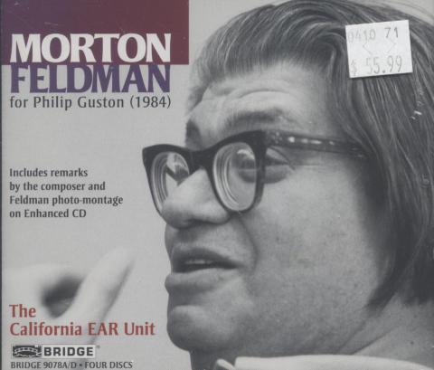 Morton Feldman CD