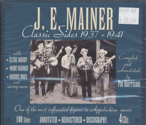 J.E. Mainer CD