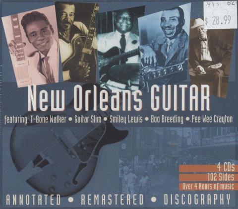 New Orleans Guitar CD