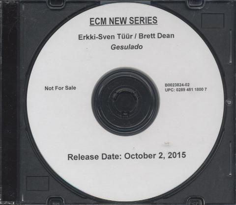 +Erkki-Sven Tuur & Brett Dean CD
