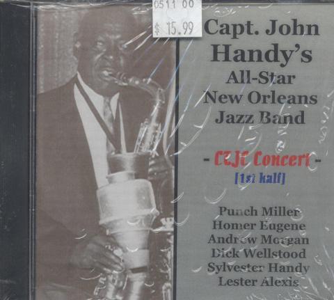 Capt. John Handy's New Orleans All - Star Band CD