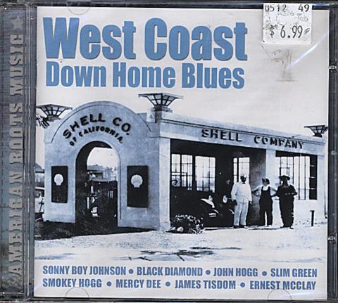 West Coast Down Home Blues CD