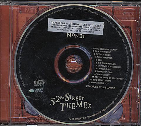 Joe Lovano Nonet CD