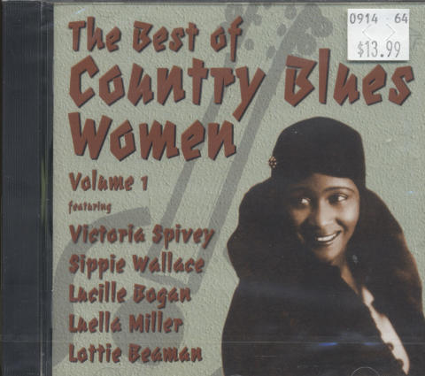 Victoria Spivey / Sippie Wallace / Lucille Bogan / Luella Miller / Lottie (Beaman) Kimbrough CD