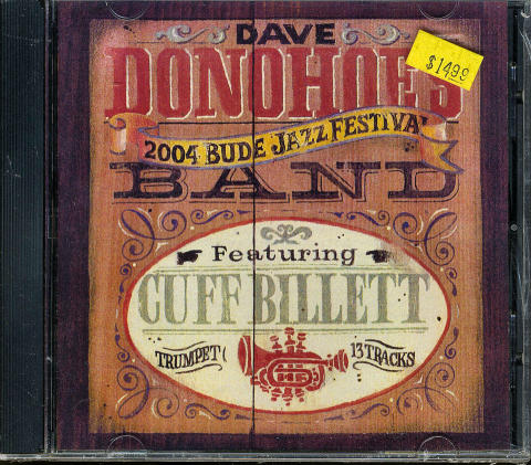 The Dave Donohoe Band CD