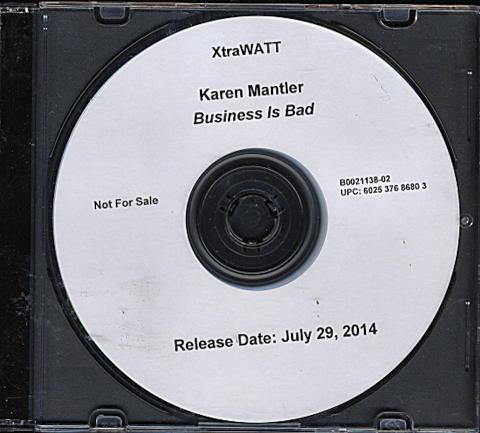 Karen Mantler CD