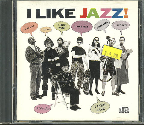 I Like Jazz! CD
