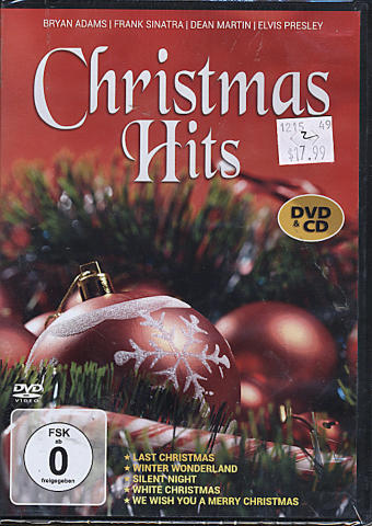 Christmas Hits CD