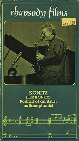 Lee Konitz VHS